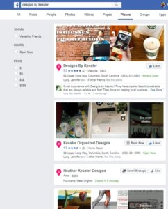 Facebok Business Pages Search