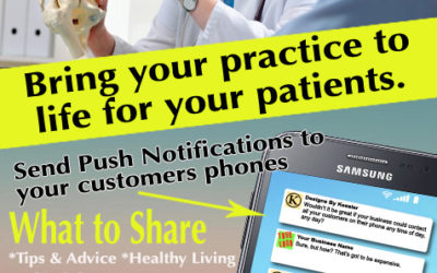 Push Notifications for Chiropractors